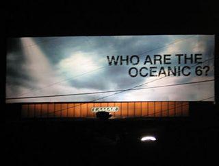 Oceanic 6 Billboard Los Angeles